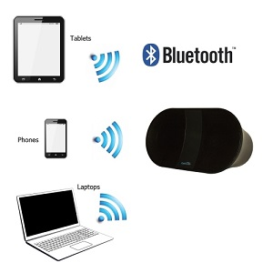 CoolStream Speaker with tablet phone laptop
