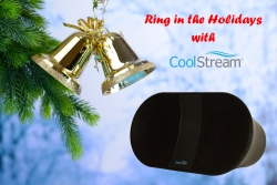 Christmas branch and speaker 250 x167