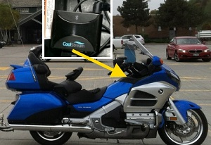 Honda Goldwing Accessory Connects Speakers to Phone Wirelessly