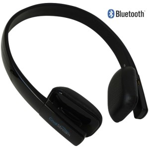CoolStream Bluetooth Devices - CoolStream Bluetooth Headphones - Black