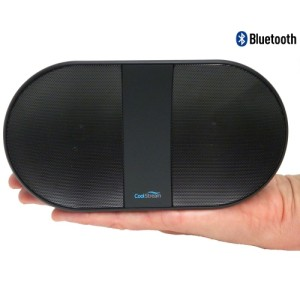 Can the battery be replaced in the CoolStream Bluetooth Speakers