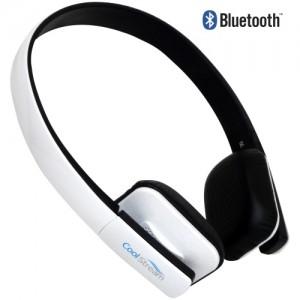 coolstream bluetooth headphones white coolstream. Black Bedroom Furniture Sets. Home Design Ideas