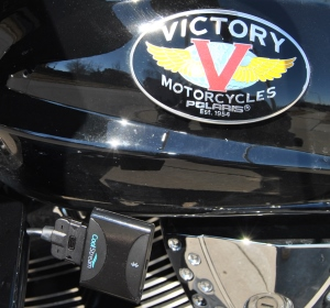 Victory Motorcycle works with CoolStream Duo