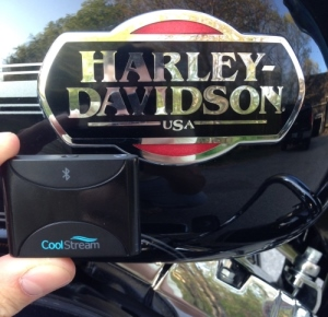 CoolStream Duo works with Harley Davidson Stereo