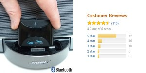Amazon Reviews give 4.3 Stars to the CoolStream Duo