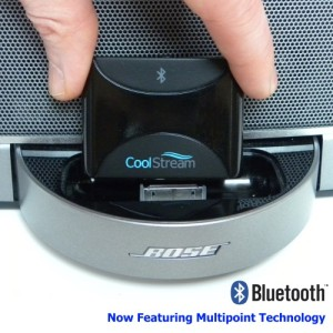 CoolStream® Duo Bluetooth adapter for Bose SoundDock