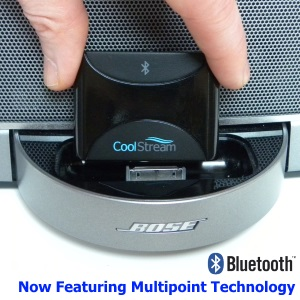 CoolStream Bluetooth Devices - CoolStream Duo Bluetooth Adapter with Multipoint Technology