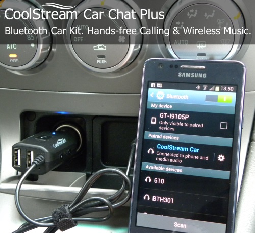 Car Chat Plus with a Phone