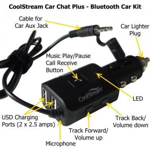 CoolStream Car Chat Plus diagram