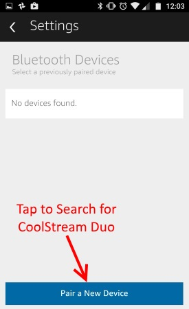 Search for CoolStream Duo