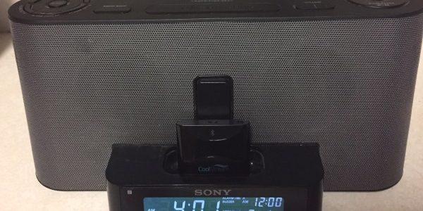 Sony ICF-C1iPMK2 with CoolStream