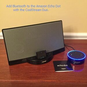 Add Bluetooth to the Amazon Echo Dot with CoolStream