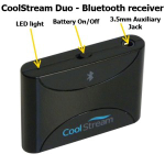 CoolStream Duo showing top of Duo