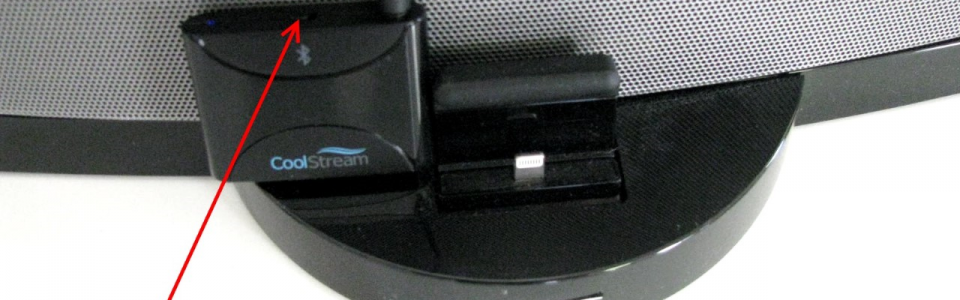 CoolStream Duo working with the Bose SoundDock 3