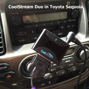 CoolStream Duo in toyota sequoia