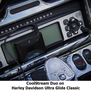 CoolStream Duo on Harley