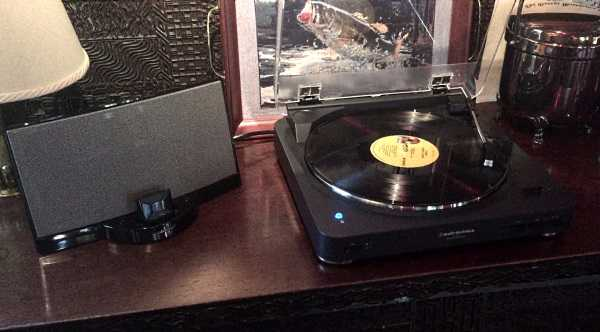 Duo on a Bose working with Bluetooth enabled turntable