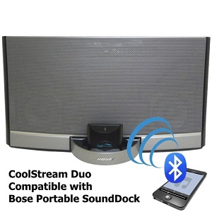 CoolStream Duo placed on Bose