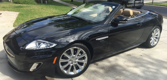 Jaguar XK works with CarPro