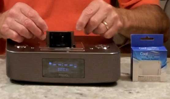 Duo works with Phillips iPod dock