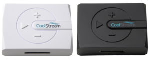 CoolStream BOOM! comes in black and white
