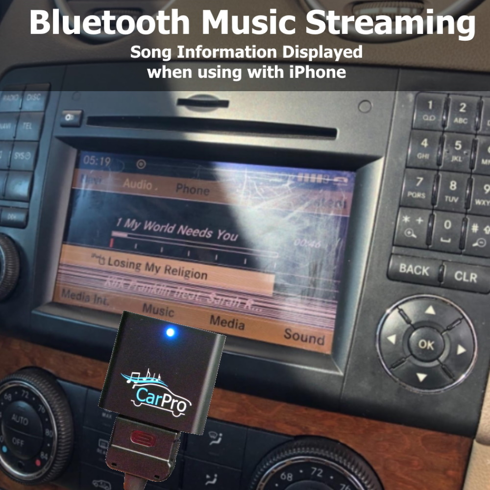 CoolStream CarPro Bluetooth Music Receiver