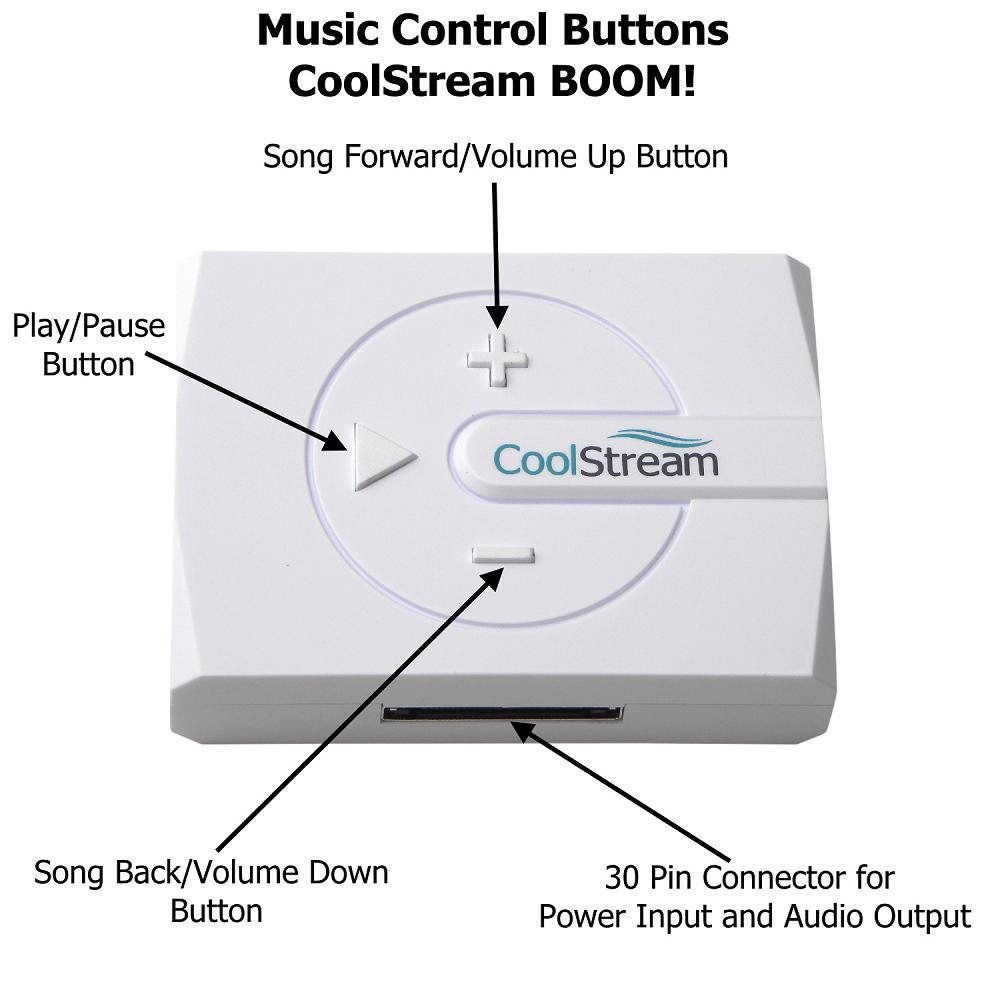 CoolStream BOOM! Bluetooth Music Receiver