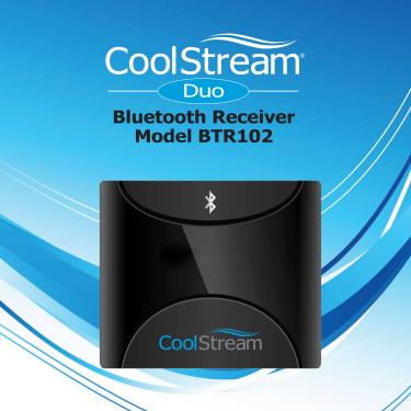 CoolStream Duo manual cover model BTR 102