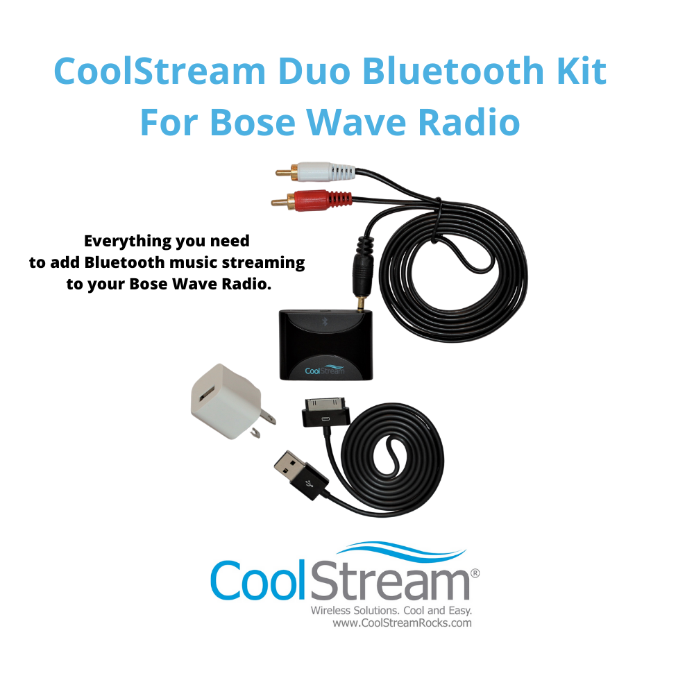 CoolStream Duo Bluetooth Kit for Bose Wave Radio