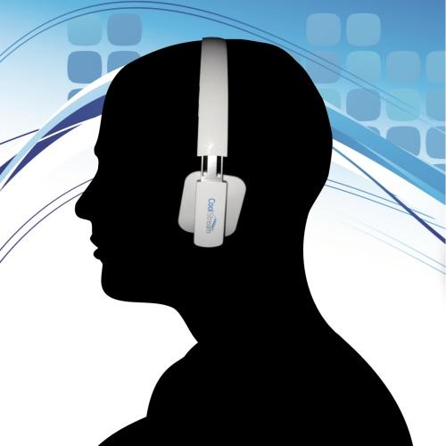 Bluethooth headphones white